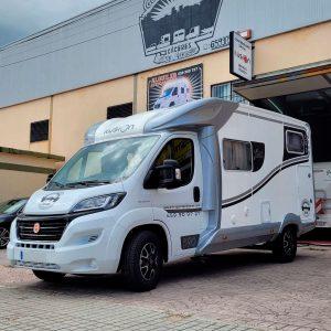 Alquiler autocaravanas 4 plazas Cáceres | GasParking